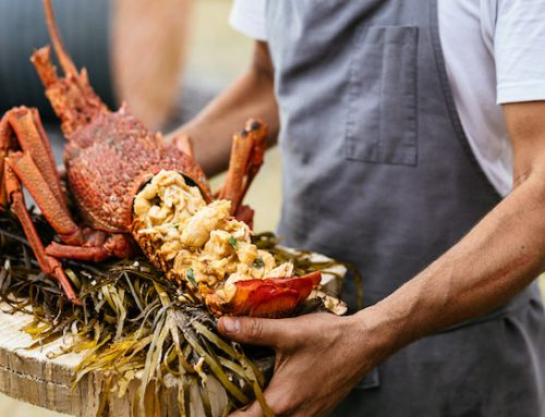 Mark's cooking up crayfish – and showing us how it's done