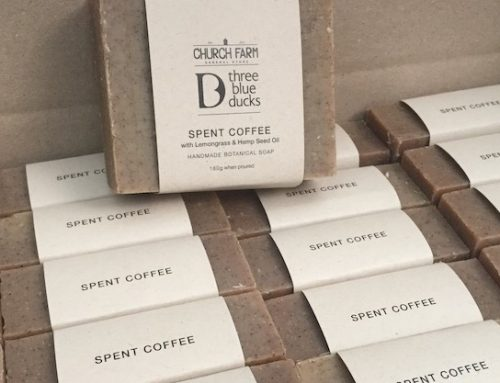 New TBD X Church Farm spent coffee soap