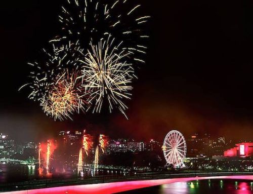 Light Up The Night at Brisbane's Riverfire