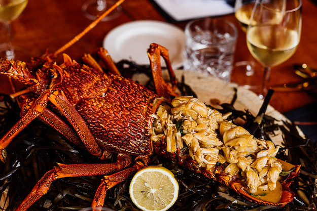 Crayfish Dinner with Mark LaBrooy and James Viles